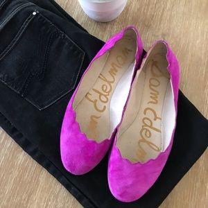 Sam Edelman Magenta Pink Flats